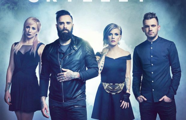 Skillet top hot christian songs chart with feel invincible